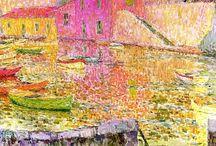 Painting. Henri Le Sidaner