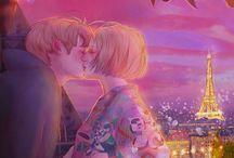 Anime manga coppia