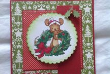 My Christmas Cards / my homemade cards