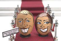 Celegg-brity Egg Heads