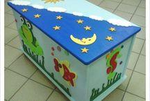 Bauliweb / Ideazione, realizzazione e vendita online bauli in legno decorati artigianalmente.