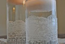 Weddings - Candles & Votifs / by Ronelle Van Rooyen / Delicate Elegance Events