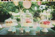 Wedding Dessert & Cake Table Ideas
