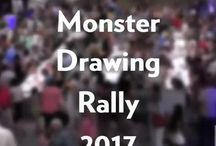 Monster Drawing Rally!