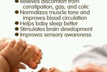 Massagem para bebés
