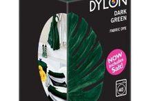 DYLON Koyu Yeşil - Dark Green - Fabric Dye With Salt
