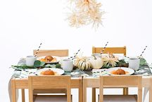 Thanksgiving / Put some wobble in your gobble. Recipes, tablescapes and thankful hearts.