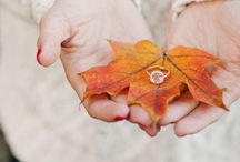 Engagement and Wedding Pictures / Gorgeous ideas for your fall engagement session or wedding.