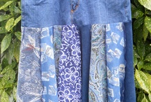 Denim recycling ideas / uses for old jeans
