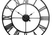 Zegar OLD STYLE / Zegar ścienny Old Style - metalowy zegar pięknie ubierający wnętrze.