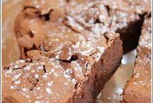 gâteau au chocolat amandes