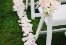 Aisle decor wedding