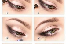 Eye enlarging makeup