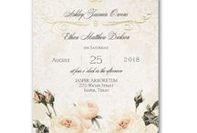 Roses are Red / Roses are a classic staple in wedding stationery. Let your love bloom with these gorgeous rose designs available at Persnickety Invitation Studio.