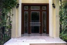 Apartman Kapıları Türkiye / Türkiye'de doğal kaplamalı ve kompozit panel kaplamalı Apartman kapısı, imalatı ve satışı sizler için Türkiye'den