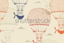 Nursery Inspiration - Shutterstock / Find #Shutterstock images to redecorate your #nursery space in an instant with Interior Ink. We provide an online shop for removable wallpaper, decals, and fabric!