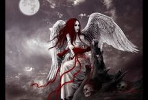 Geek Flag: Angels and Demons / My love of the contrast of the heavens versus hell.