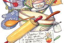 In the Kitchen Ilustrações
