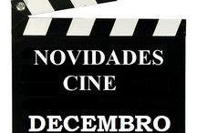 Cine DECEMBRO 2016 / NOVIDADES  de CINE na Biblioteca Ánxel Casal. Decembro 2016