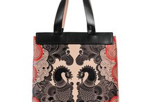 Universal Bag - A Possible Magic / Women Leather Handbags, Limited Edition Designer Leather Bag COLOURS OF MY LIFE - Limited Edition wearable art signed by Anca Stefanescu.