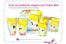 Fiesta de Campanita - Tinkerbell / Ideas y artículos para una fiesta de cumpleaños de Campanita - Tinkerbell y las Hadas al rescate.