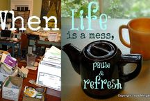 Zen Tea Photo Quotes / by Cat Wisdom 101