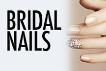 Bridal Nail Art & Nail Designs / Nail looks for your wedding day and wedding party.