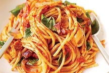 Spaghetti / spaguetti recipies