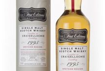 Craigellachie single malt scotch whisky / Craigellachie single malt scotch whisky