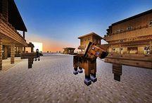 Minecraft Build Ideas / by Sonya R