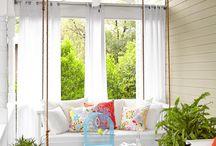 Big Bad Outdoor Swings / Enjoy your big bad garden from the relaxing sway of an outdoor swing.
