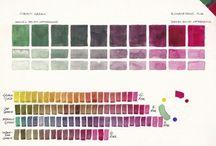 Mezclas de colores