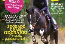 Gallop Koń&Jeździec // Gallop Horse&Rider / Okładki, spisy treści, wydarzenia z życia redakcji Gallopu // Covers, lists of contents, events from the life of Gallop's editorial staff and office