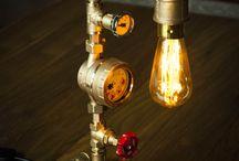 Steampunk DIY Industrial Pipe Lamp #2