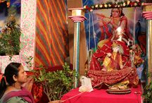 Janmashtami festivities / Janmashtami festivities happening in Lajpat Nagar in South Delhi