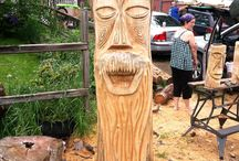 Carved Art / I love art in all forms and find sculptures to be amazing. / by E T