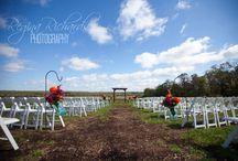 Outside weddings at The Barn at Stone Valley Plantation