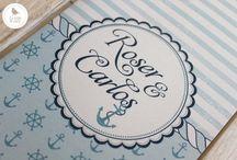 Invitaciones boda / Diseñamos invitaciones de boda inspiradas en la historia de amor de cada pareja.