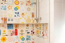 ideias para decorar - banheiros