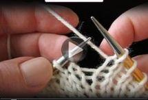 Видео по вязанию