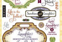 Live Love Laugh Vintage Labels Two