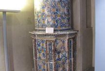 Stufe antiche - antique kachelofen - Old stoves