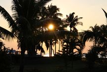 Sunset in Mauritius / Sunset in Mauritius at the Sofitel l´imperial Resort and Spa
