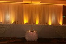 Premium event draping / Our premium event draping can transform your venue from ordinary to extraordinary extending the wow factor to your guests