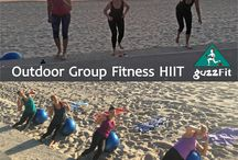 "Outdoor Group Fitness HIIT guzzFit Training / Outdoor fitness training on Coogee beach; is incredibly invigorating puts a bigger chunk into your weekly fitness regime and sets your day up to be special Go to www.guzzFit.com and contact us for a ""FREE"" Trial Personal Training session  #PersonalTrainer #PersonalTraining #BoxingClasses #FemaleFitnessTrainer #HIIT #MuscleFitness #BodyTransformation #guzzFitTraining #12WeekChallenge #GroupFitnessTraining #Bootcamp #MealPlan #StretchingProgram #Nutrition #Mobility #MuscleGain #BuildMuscle"