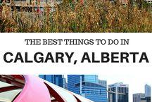 Calgary & Banff