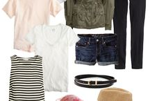 Travel Look Inspirationz / Travel clothes collections...mix and match looks...in all look inspirations