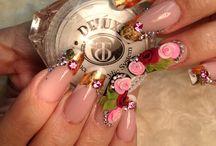 Christrio Nail Inspiration / #3Dnailart #3dacrylic #3dacrylicflowers #nailart #nailporn #nailinspiration #nailcandy #nailsofpinterest #nailsoftheday #nails #naildesigns