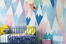 Kids Wall Art & Decor / kids rooms arrangements and other ideas