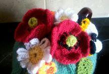 Knitting novelty plus crochet